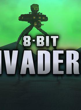 8-Bit Invaders Key Art