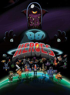 88 Heroes Key Art