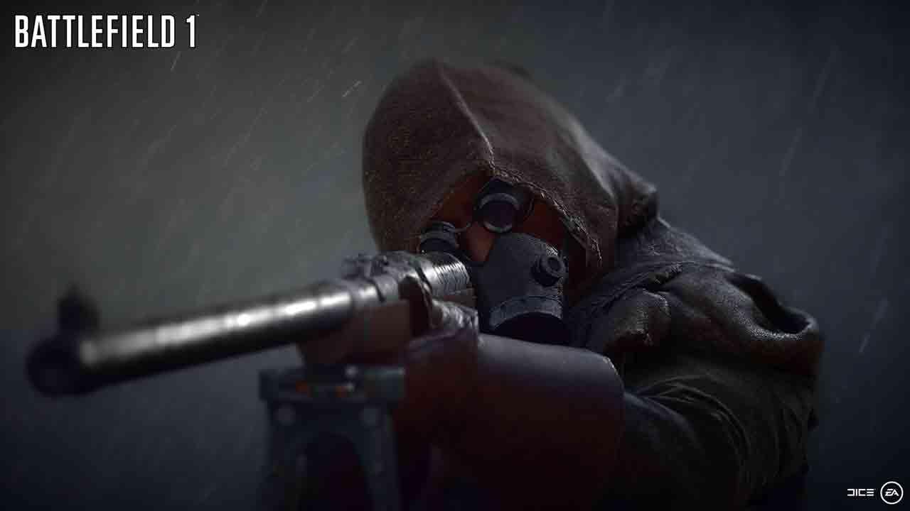 Battlefield 1 Revolution Background Image