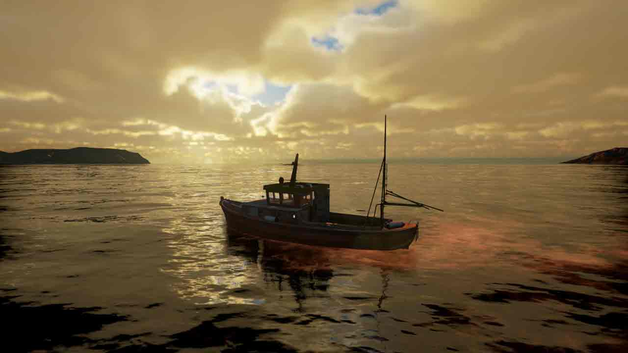 Fishing: Barents Sea Background Image