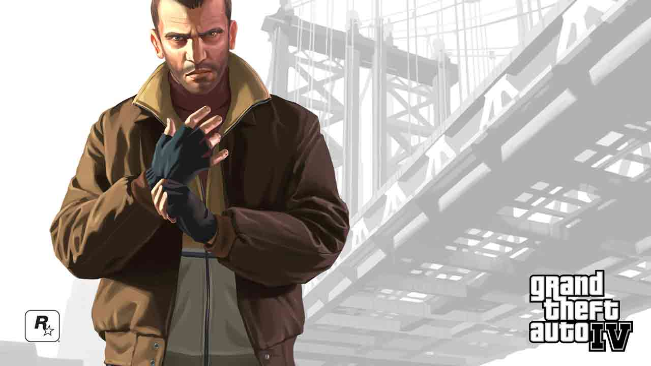 Grand Theft Auto 4 Background Image