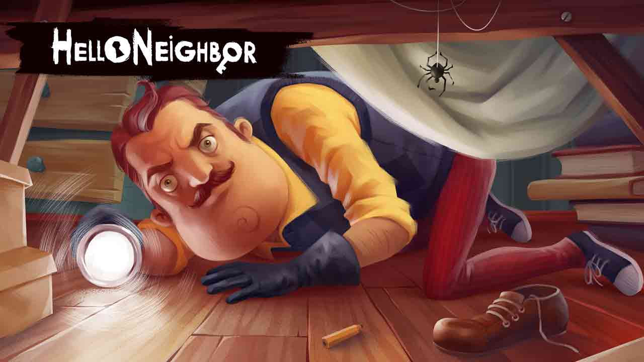 Hello Neighbor Background Image