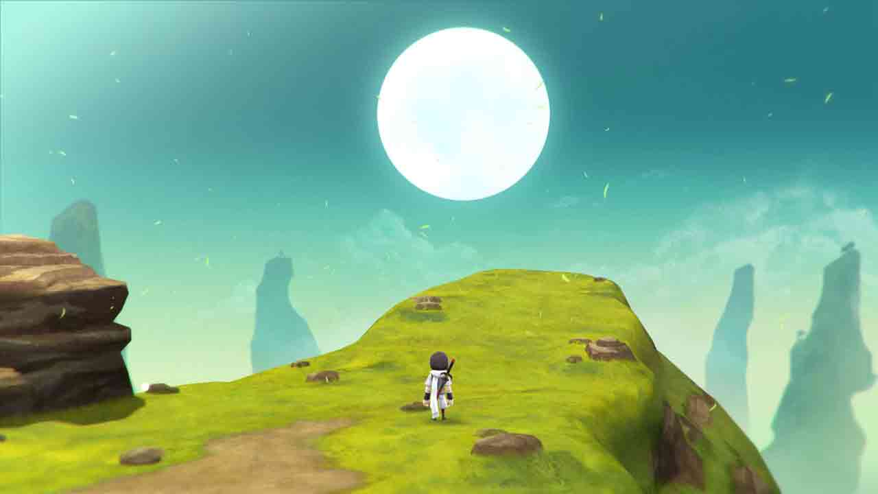 Lost Sphear Background Image