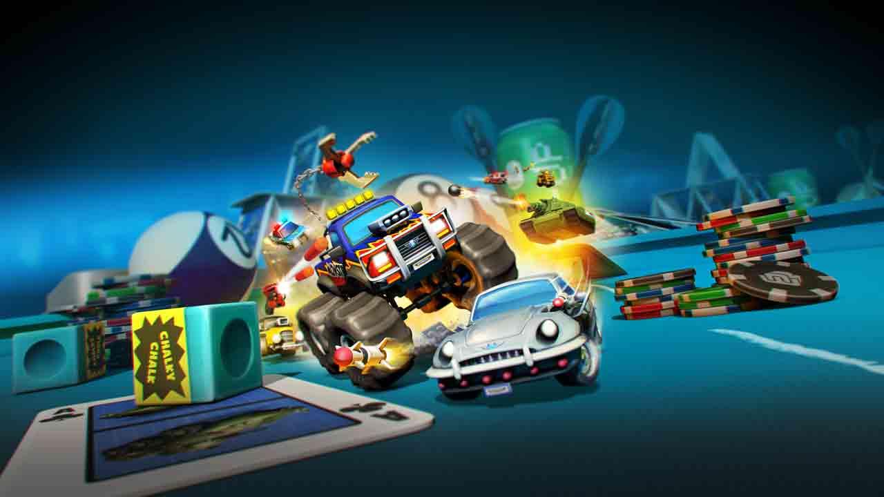 Micro Machines World Series Background Image
