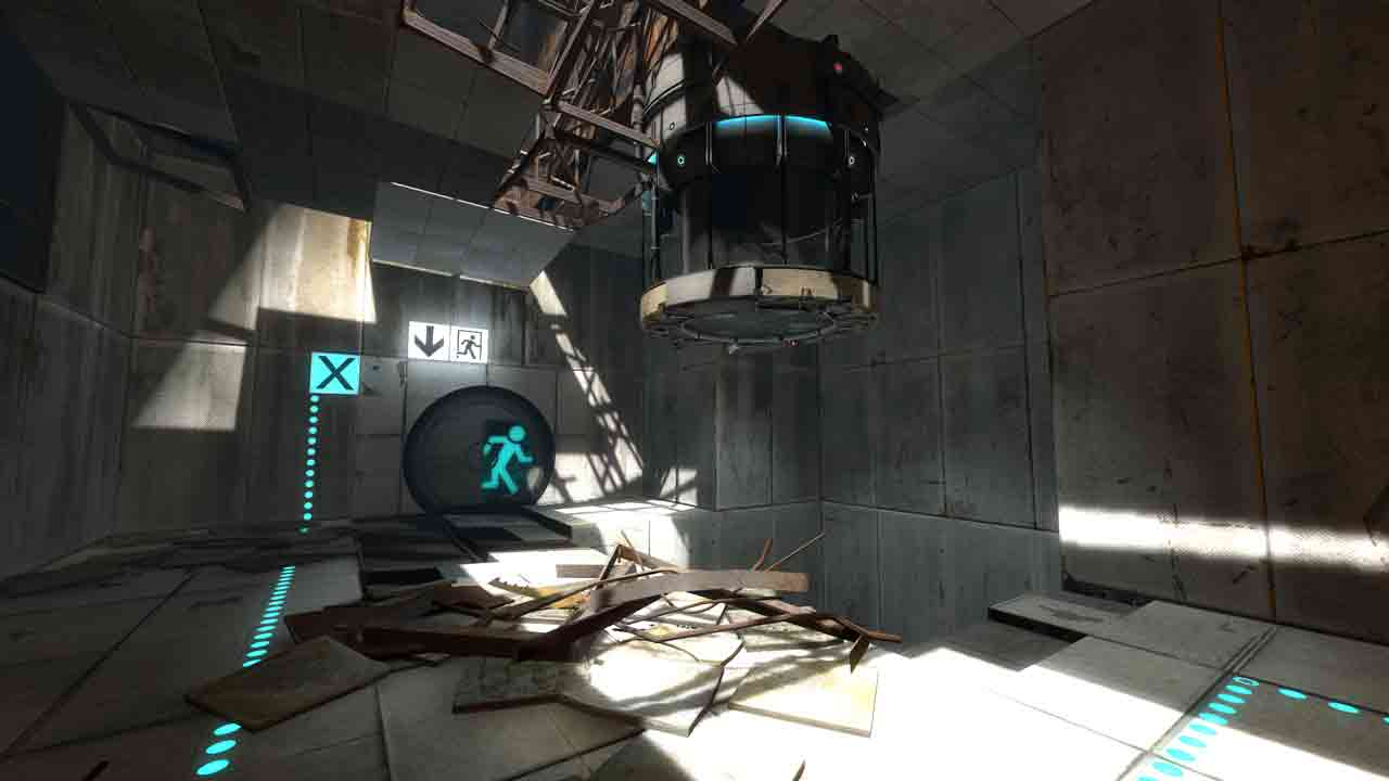 Portal 2 Background Image