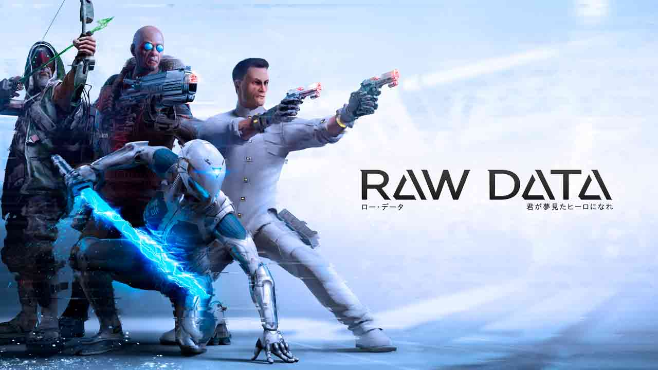 Raw Data Background Image