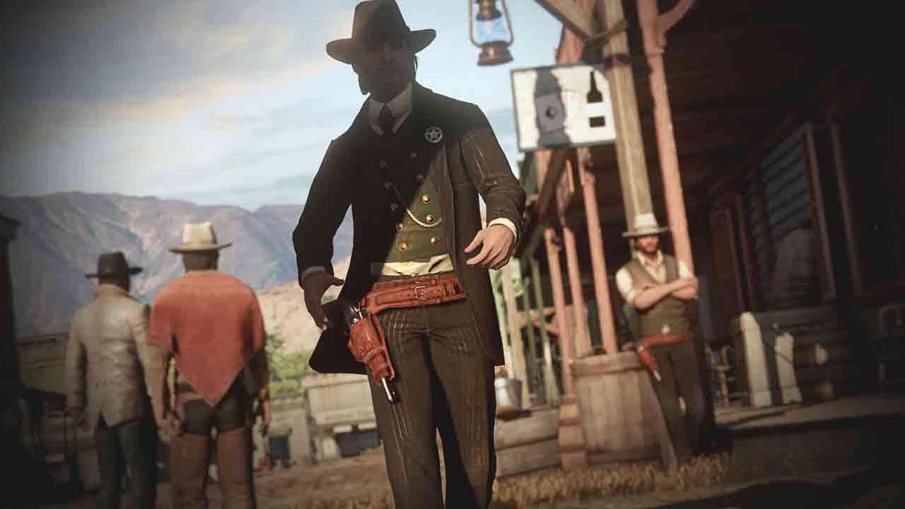 Wild West Online Background Image