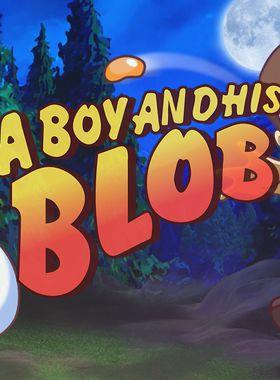 A Boy and His Blob Key Art