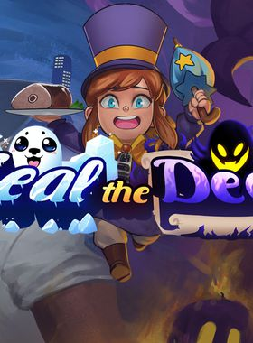 A Hat in Time - Seal the Deal Key Art