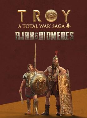 A Total War Saga: TROY - Ajax & Diomedes Key Art