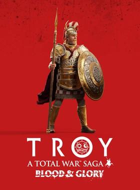 A Total War Saga: TROY - Blood & Glory Key Art