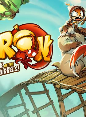 Acron: Attack of the Squirrels! Key Art