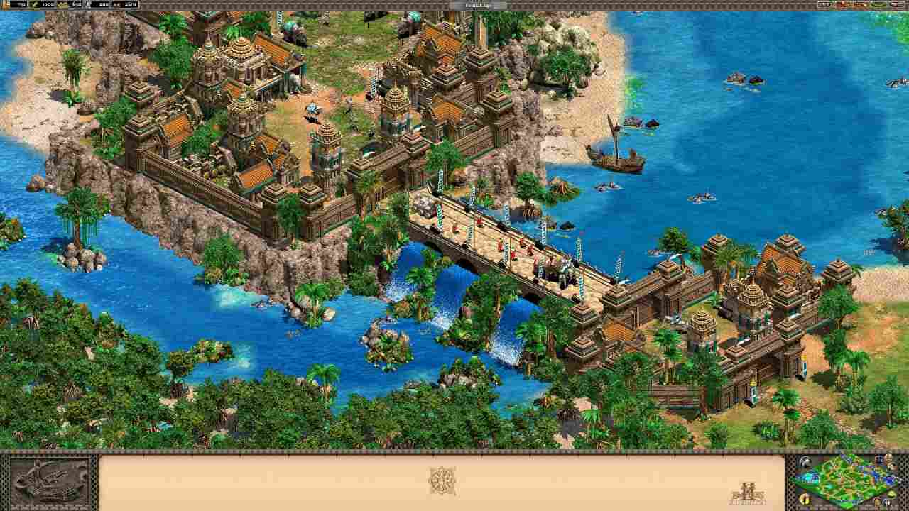 Age of Empires 2 HD: Rise of the Rajas Background Image