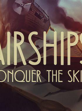 Airships: Conquer the Skies Key Art