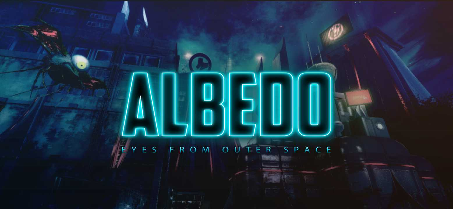 Albedo: Eyes From Outer Space Background Image