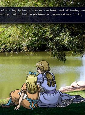 Alice in Wonderland Key Art