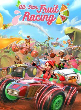 All-Star Fruit Racing Key Art