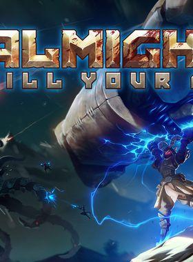 Almighty: Kill Your Gods Key Art