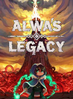 Alwa's Legacy Key Art