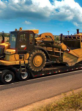 American Truck Simulator - Heavy Cargo Pack Key Art