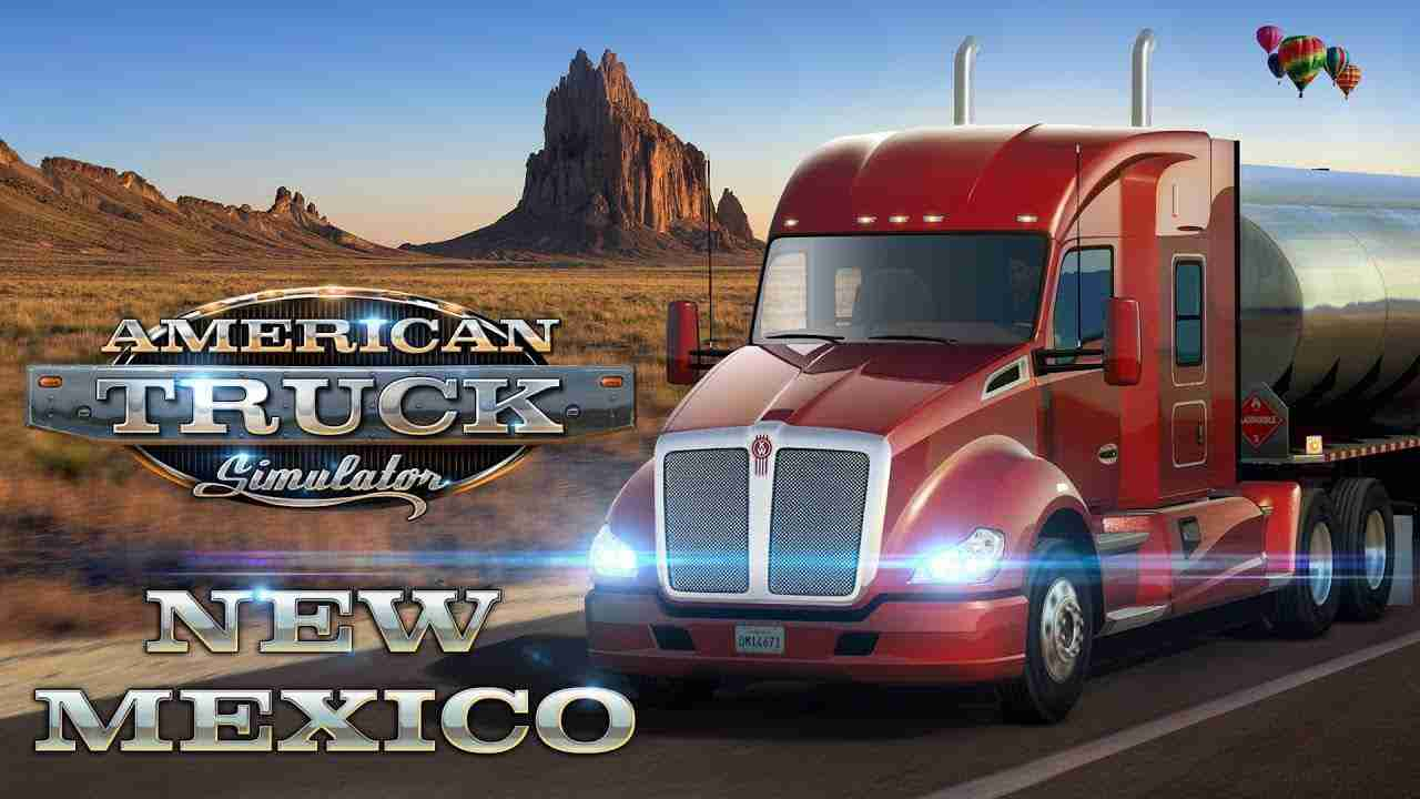 American Truck Simulator - New Mexico Background Image