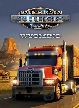 American Truck Simulator - Wyoming Key Art