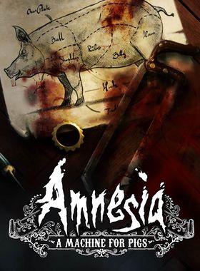 Amnesia: A Machine for Pigs Key Art