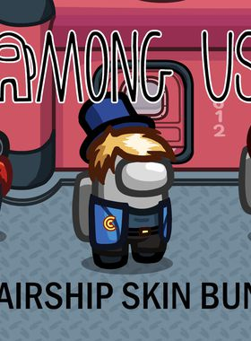 Among Us - Airship Skins Key Art