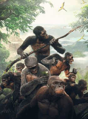 Ancestors: The Humankind Odyssey Key Art