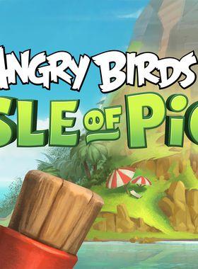 Angry Birds VR: Isle of Pigs Key Art