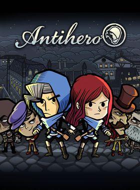 Antihero Key Art