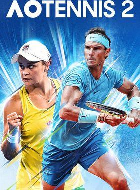 AO Tennis 2 Key Art