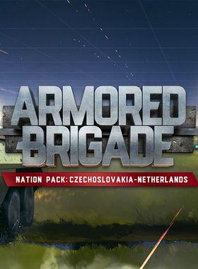 Armored Brigade Nation Pack: Czechoslovakia - Netherlands Key Art