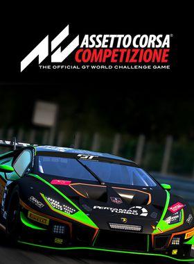 Assetto Corsa Competizione Key Art