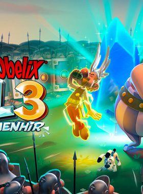 Asterix & Obelix XXL 3 - The Crystal Menhir Key Art