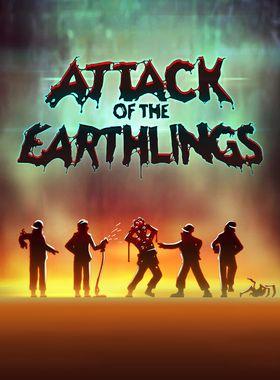 Attack of the Earthlings Key Art