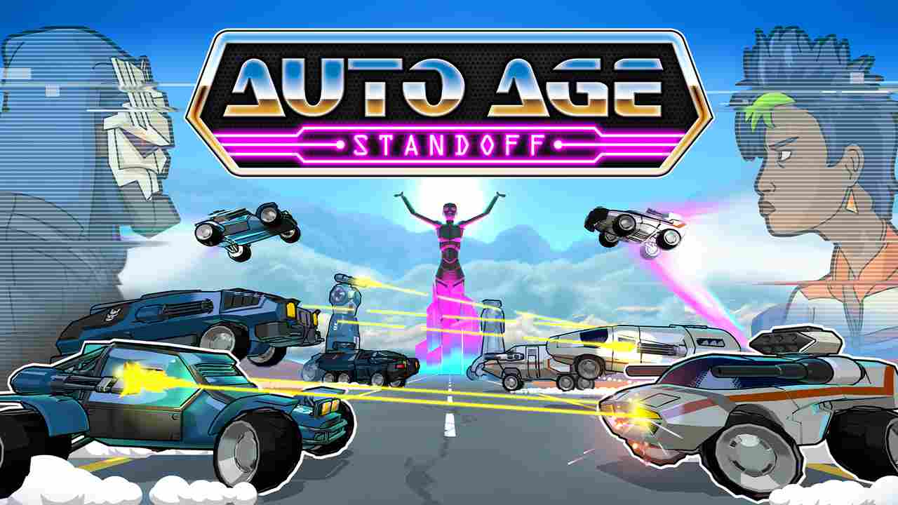 Auto Age: Standoff Background Image