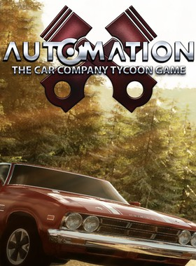 Automation - The Car Company Tycoon Game Key Art