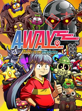 Away: Journey to the Unexpected Key Art