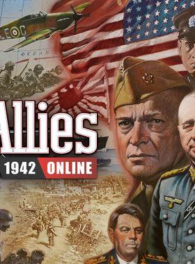 Axis & Allies 1942 Online Key Art