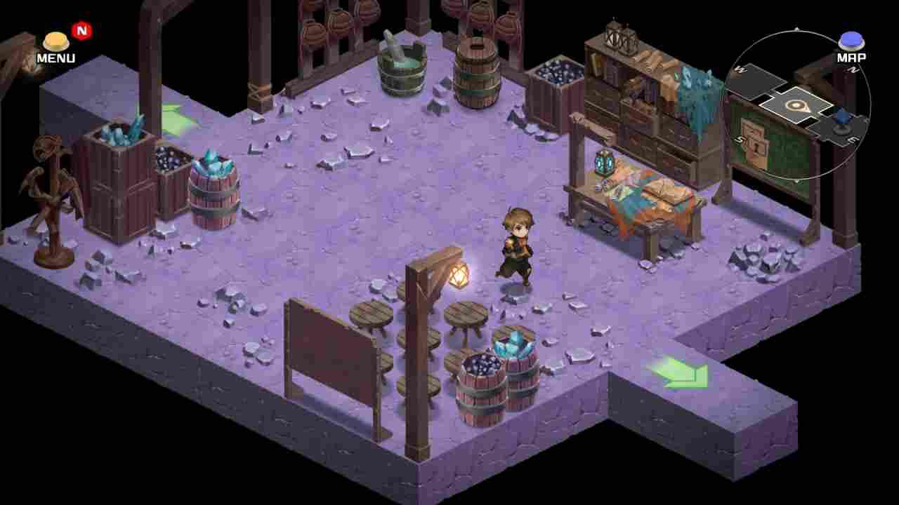 Azure Saga: Pathfinder Background Image