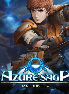 Azure Saga: Pathfinder Key Art