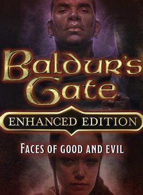 Baldur's Gate: Faces of Good and Evil Key Art