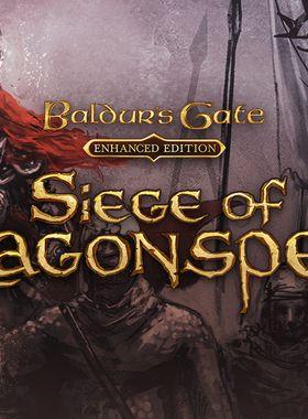 Baldur's Gate: Siege of Dragonspear Key Art