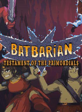 Batbarian: Testament of the Primordials Key Art