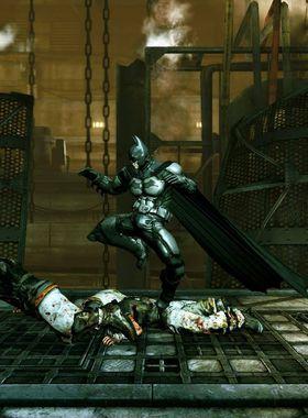 Batman: Arkham Origins Blackgate Key Art