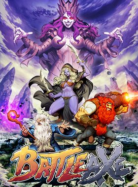Battle Axe Key Art