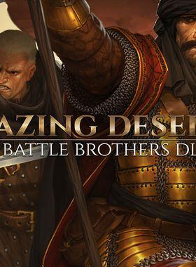 Battle Brothers - Blazing Deserts Key Art