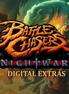 Battle Chasers: Nightwar Digital Extras Key Art