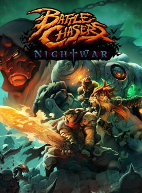 Battle Chasers: Nightwar Key Art